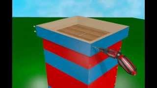 KOŠNICA DB 10 - SKLAPANJE - 3D animacija