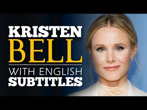 ENGLISH SPEECH | KRISTEN BELL: Build Your Tribe (English Subtitles)