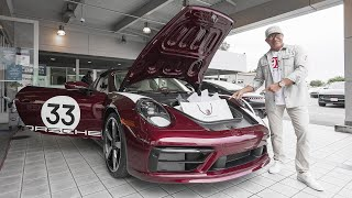 TAKING DELIVERY OF MY 2021 PORSCHE 911 TARGA 4S HERITAGE EDITION! || Manny Khoshbin