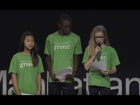 Reduce, Reuse, Recycle | Grades of Green Youth Corps | TEDxManhattanBeach