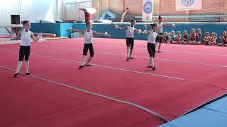 "Спортивная гимнастика. Танец "" Фигаро"""