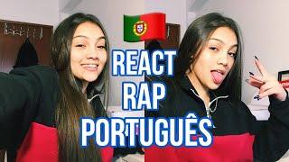 BRASILEIRA REAGINDO A MÚSICAS PORTUGUESAS (RAP)!! 🇵🇹 | Lah Rios