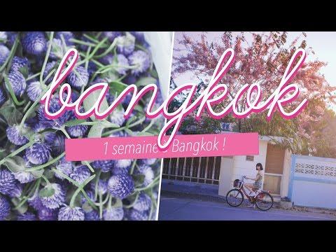 VLOG, notre voyage à Bangkok.