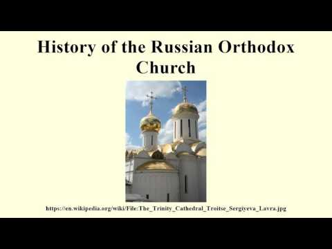 History of the Russian Orthodox Church