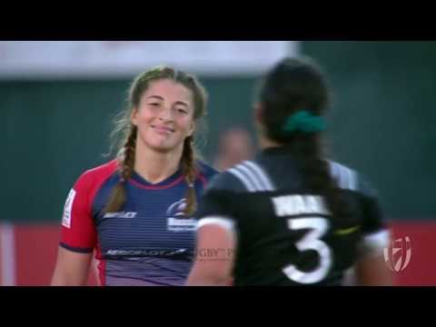 Women's 7s Dubai 2018 Russia vs New Zealand