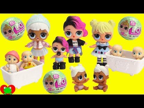 BABIES! LOL Surprise, Cabbage Patch Kids, Baby Secrets
