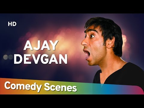 Ajay Devgan Comedy - Hit Comedy Scenes - अजय  देवगन हिट् कॉमेडी - Shemaroo Bollywood Comedy Mp3