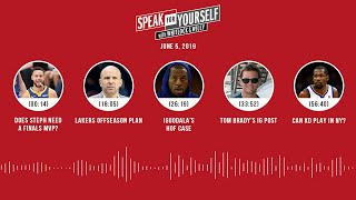 SPEAK FOR YOURSELF Audio Podcast (6.5.19) with Marcellus Wiley, Jason Whitlock | SPEAK FOR YOURSELF