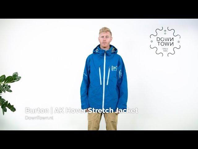 Burton AK Hover Stretch Jacket 2020 jas review - DownTown.nl