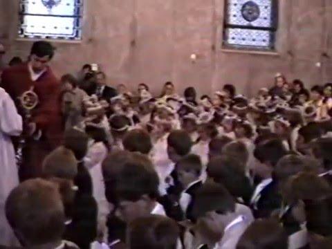 I Komunia Święta - Gołdap 22 maja 1988