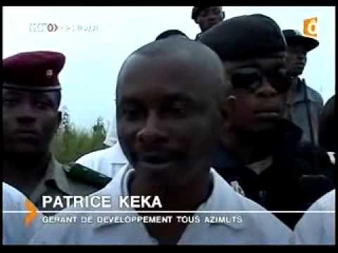 TROPOSPHÈRE V à Kinshasa, une vidéo de Nzwamba programme, spatial, espace, fusée, kemet