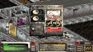 Fallout 2 Unarmed Walkthrough part 35 : Sierra Army Depot (Skynet)