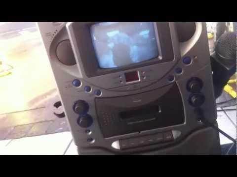 MTV CD Karaoke Machine