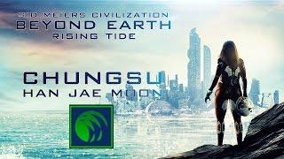 Civilization Beyond Earth Rising Tide gameplay pl - Chungsu #1 - Wodny Świat