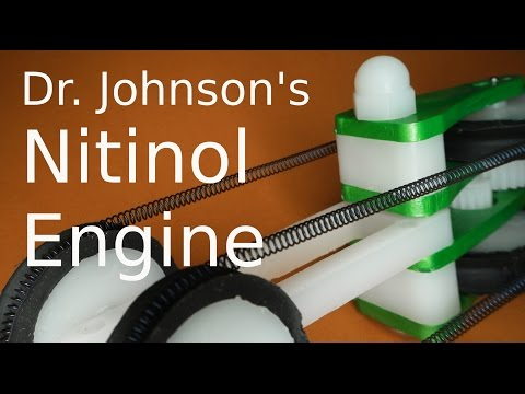 Unbelievably strong Nitinol Engine