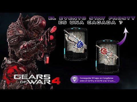 Gears of War 4 l ¿El evento Stay Frosty es una Cagada? l Skins Latido