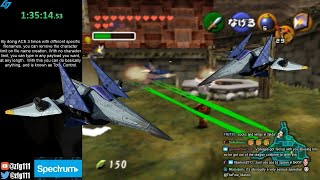 Spawning Arwings on original Ocarina of Time without cheats (with Arbitrary Code Execution)