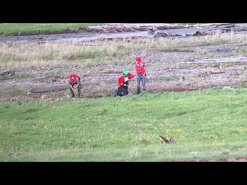 Swift Water Rescue Yellowstone National Park June 2019