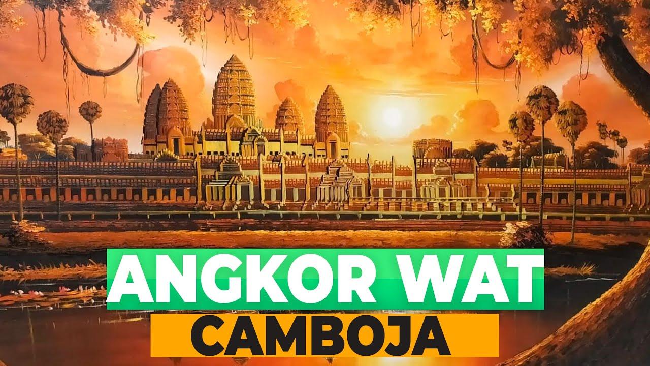 ANGKOR WAT - Cenário do Filme Tomb Raider | Camboja