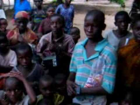 Orphans from DR Congo wanting to attend school