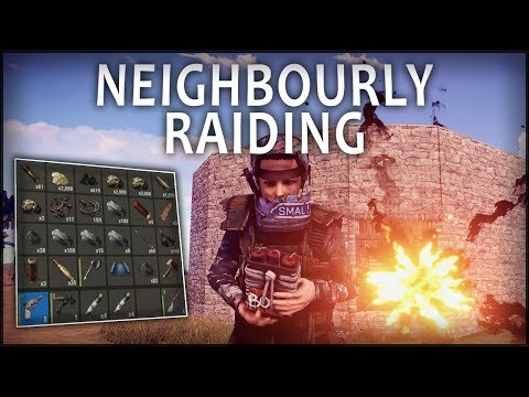 NEIGHBOURLY RAIDING - Rust Solo #36