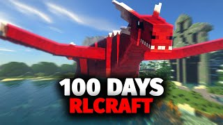 I Spent 100 Days in RLCraft and Here's What Happened