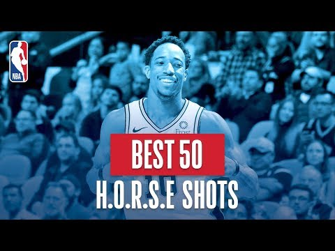 NBA's Best 50 H.O.R.S.E. Shots | 2018-19 NBA Regular Season