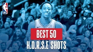 Download NBA's Best 50 H.O.R.S.E. Shots | 2018-19 NBA Regular Season Mp3 and Videos