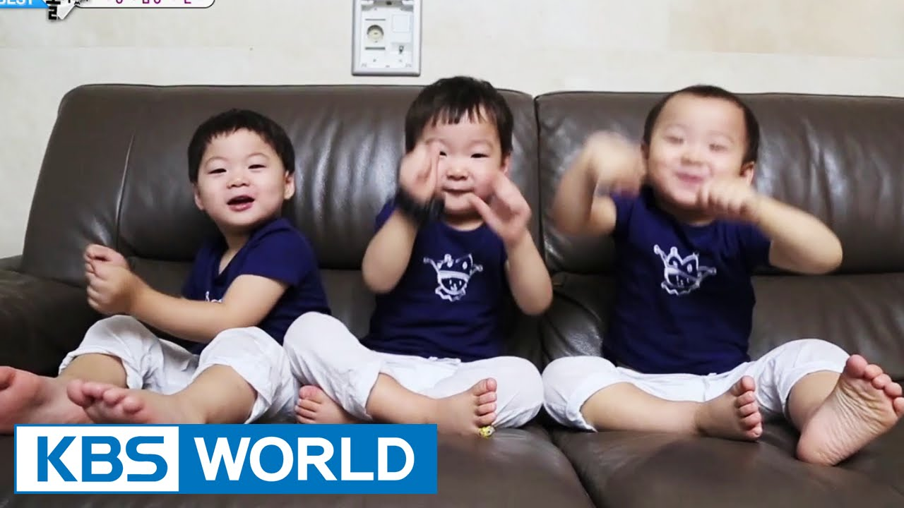 The Return Of Superman The Triplets Enchanting Dances YouTube