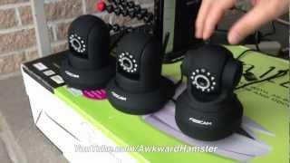 Comparing Foscam FI8918W vs FI8910W vs FI9820W Outdoor Test