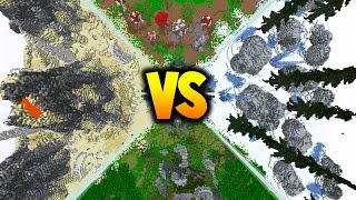 50 vs 2 VOLCANO FAN BATTLE! - with PrestonPlayz & JeromeASF