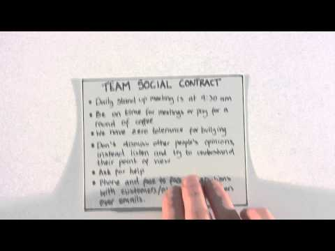 Agile in Practice: Social Contracts