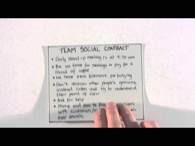 Team Social Contract Mclaughlin S Scrum Blog