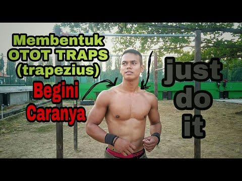 Latihan Cara Membentuk Otot LEHER / PUNDAK / TRAPS (cara Membentuk Otot Trapezius)