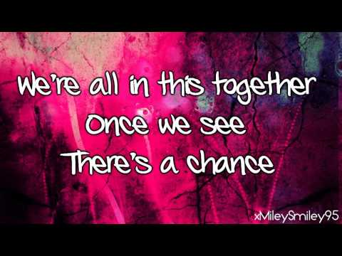 High School Musical - We're All In This Together (with lyrics)