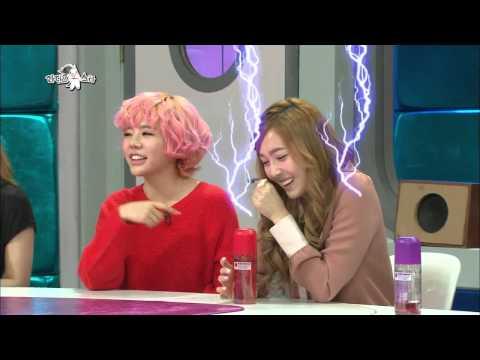 【TVPP】Jessica(SNSD) - Jessica style Aegyo, 제시카(소녀시대) - 얼음공주 제시카만의 절제된(?) 애교 @ Radio Star
