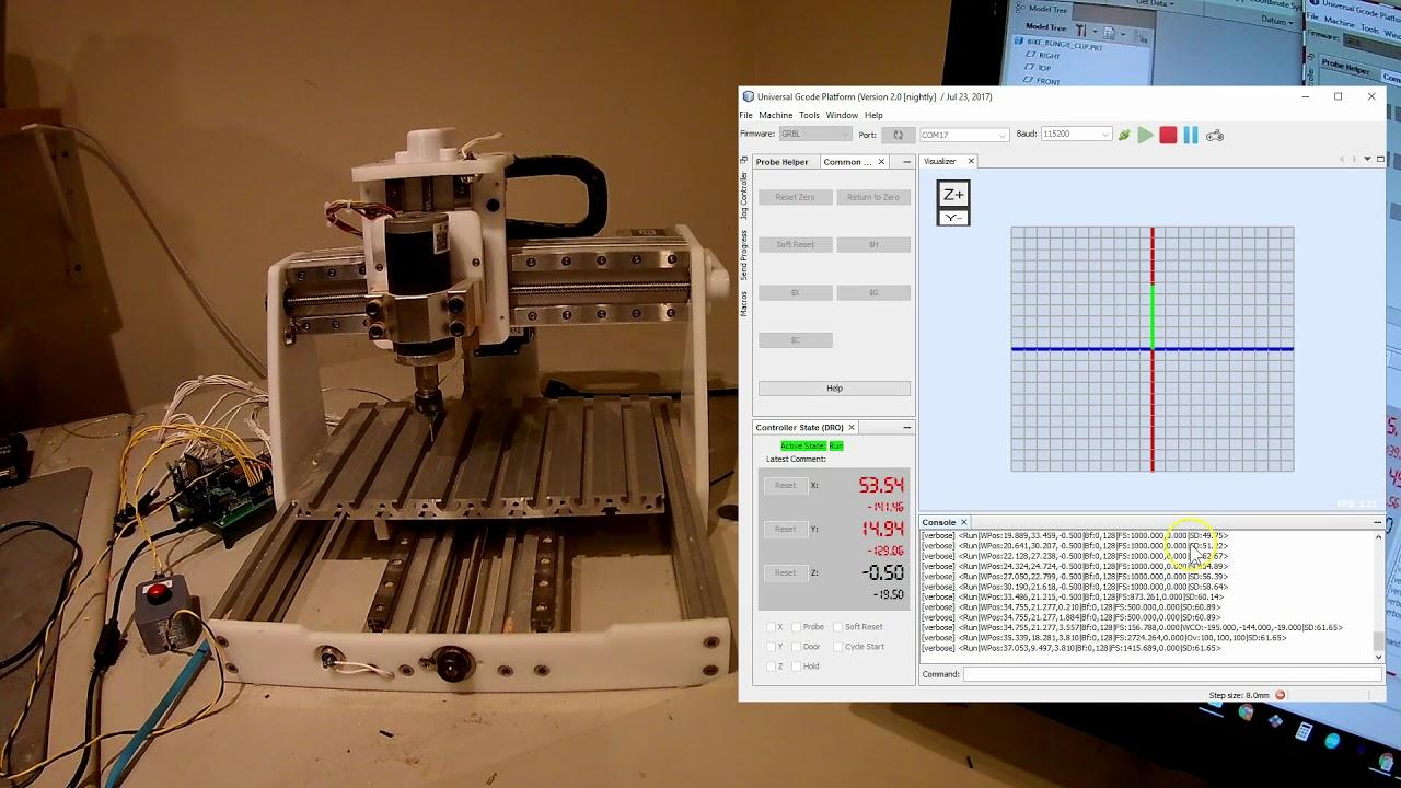 Grbl_ESP32 Update: Run Jobs from SD Card