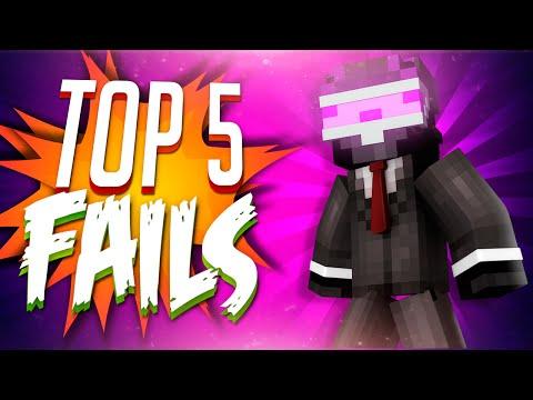 TOP 5 FAILS EN MINECRAFT | SEMANA 3
