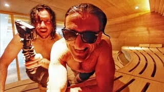 2 Dudes, A Sauna and a Video Camera(SUBSCRIBE TO SHAUN https://www.youtube.com/user/Shonduras DOWNLOAD BEME (it's free); IPHONE; https://beme.com/casey ANDROID; ..., 2016-06-08T12:30:01.000Z)