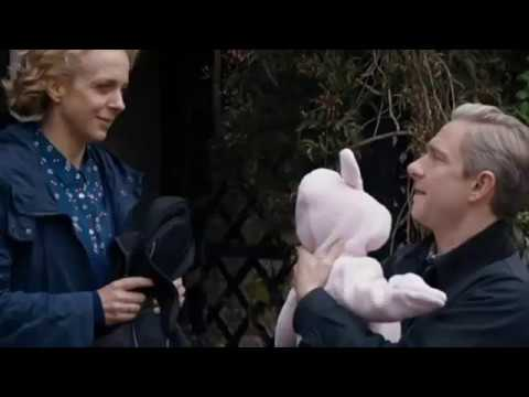 episode involving onscreen husband and wife Martin Freeman and Amanda Abbington.