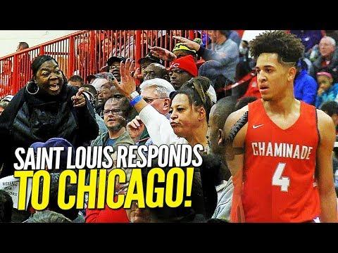 Saint Louis Chaminade RESPONDS w 100 POINTS to Chicago Morgan Park at Highland Shootout!