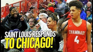 Saint Louis Chaminade RESPONDS w/ 100+ POINTS to Chicago Morgan Park at Highland Shootout!