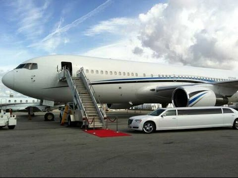 Luxury Boeing 767 Jet Charter Showcasing Event