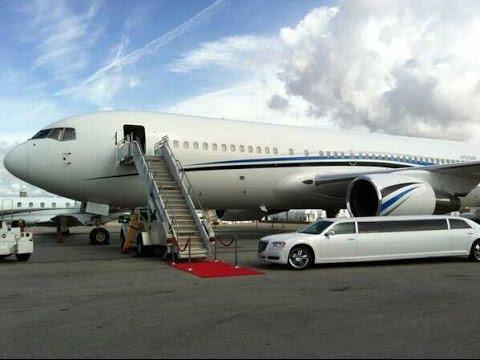 Luxury Boeing 767 Jet Charter Showcasing Event