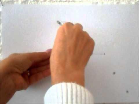 Как разделить отрезок пополам с помощью циркуля