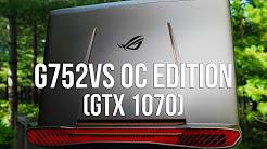 ASUS ROG G752VS OC Edition (GTX 1070) Review: A True Gaming Desktop Replacement!