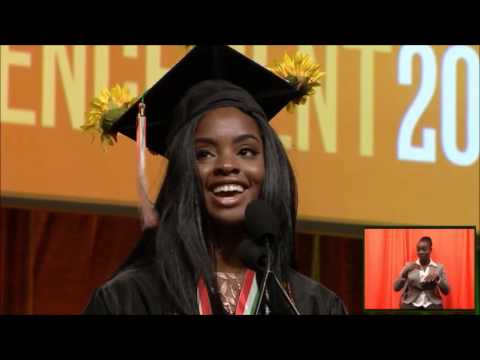 University of Miami Undergraduate Student Commencement Speech 2017