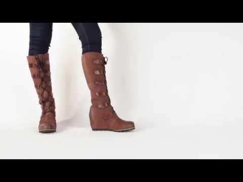 07c61017e57 Sorel Joan Of Arctic Wedge - YouTube
