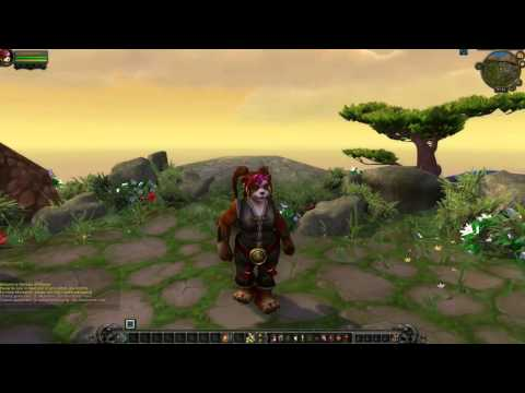 World of Warcraft Zug Emote für alle Rassen / Train Emotes
