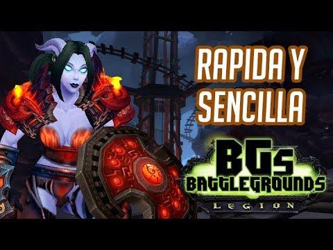 "WoW Legion 7.3 - Bg 110 PvP - ""Rápida y sencilla"" en Español   TeamRandomPlay"